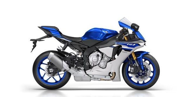 yzf-r1 side view