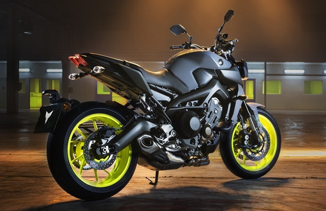 Yamaha MT-09 Night Flou