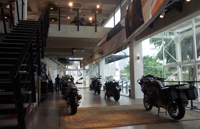 BMW Motorrad Indonesia Showroom