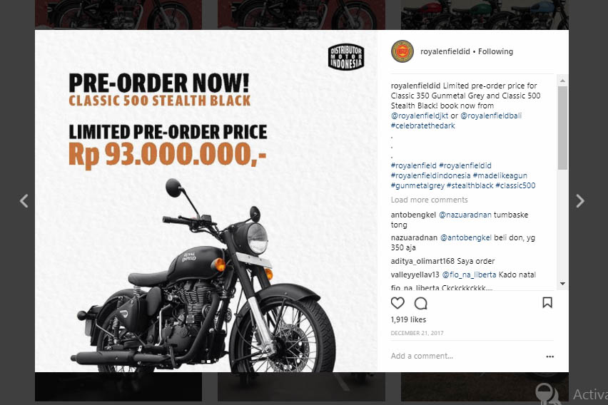 Royal Enfield Clasic 500