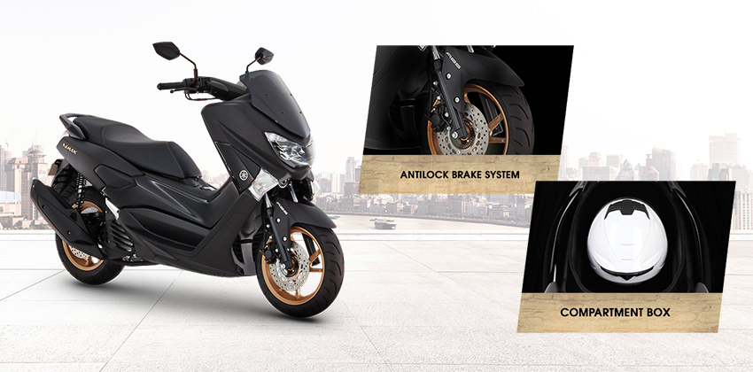 Yamaha N-Max 155 Utility Features