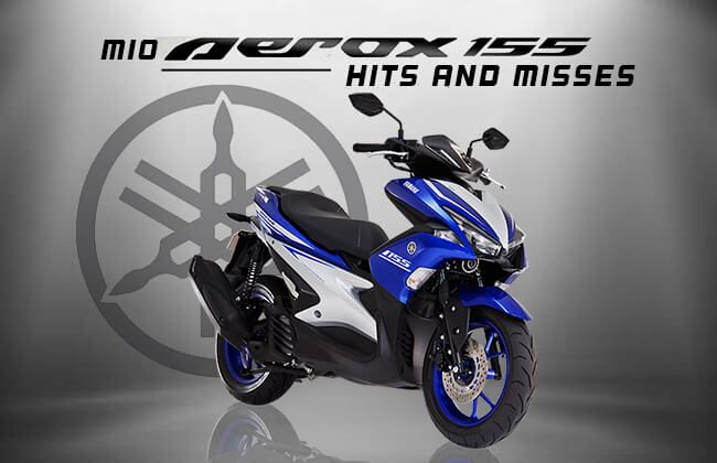 Yamaha Mio Aerox: Hits and misses